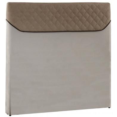 Tête de lit design 120 cm coloris beige collection