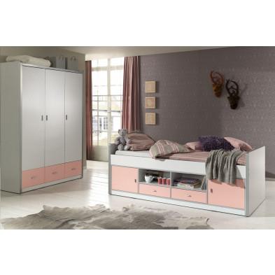 Packs chambre enfant blanc design en acier collection Haring