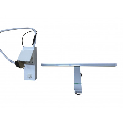 Luminaire pour salle de bains coloris blanc froid 34 cm collection Bathford