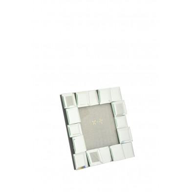 Cadre photo en verre design carré 15 cm collection Vaniet