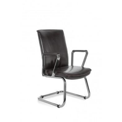 Chaise de bureau noir design L. 61 x P. 54 x H. 95 cm collection Vivy