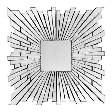 Miroir ultra design éclats effet 3D, 80 x 120 cm collection Nono