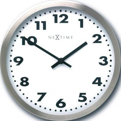 Horloge murale blanc collection Rijpma