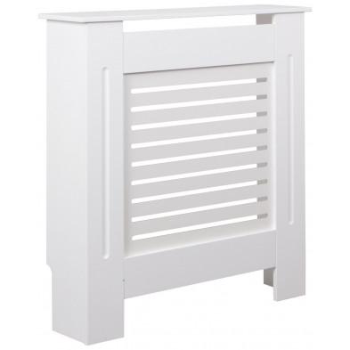Autres objets déco blanc moderne en bois mdf L. 78 x P. 19 x H. 82 cm collection Lowgill