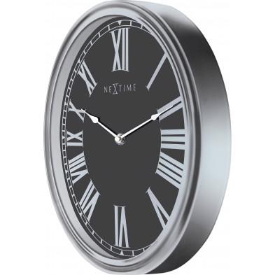 Horloge à poser noir collection Imprint