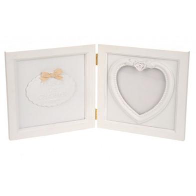 Cadre photos blanc en bois massif collection Wyverstone