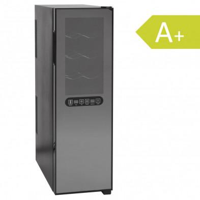 Mini-réfrigérateur à vin gris design L. 25 x P. 52 x H. 95 cmcollection Pedredo