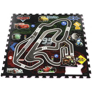 Tapis enfant Disney Cars Puzzle  H. 100 cm collection Guimaraes