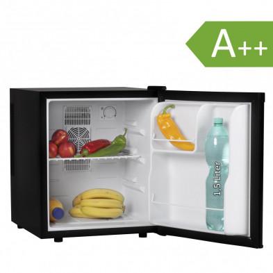 Mini-réfrigérateur noir design L. 44 x P. 48 x H. 51 cm collection Darith