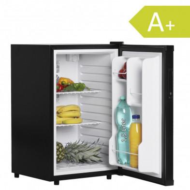 Mini-réfrigérateur noir design L. 46 x P. 54 x H. 74 cm collection Darith