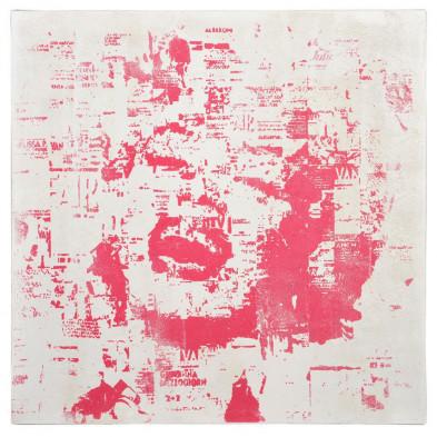 Toiles et tableaux blanc 80 x 80 cm en collection Decorous