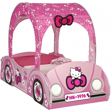 Lit Hello Kitty 70x140 cm  coloris rose collection Cesta