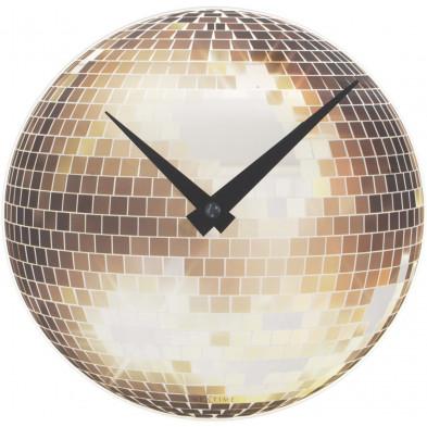 Horloge à poser argenté en collection Mapleheights