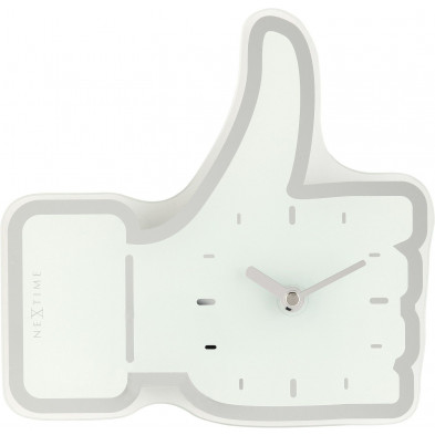 Horloge à poser blanc collection Vickey