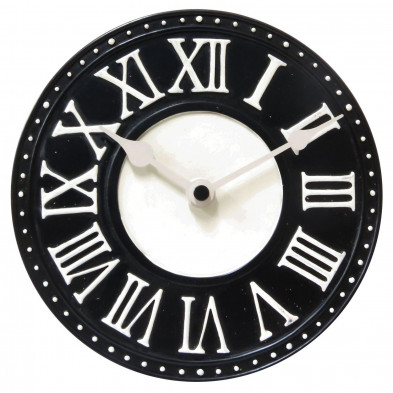 Horloge à poser noir collection Jongejans
