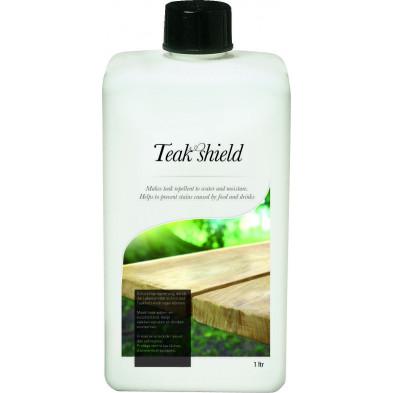Soin barrière protectrice eau et nourriture pour mobilier de jardin en teck 1L collection Pelders