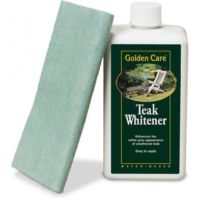 Produit nettoyant et raviver d'éclat pour mobilier de jardin en teck gris 1L collection Pelders