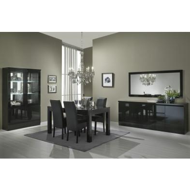 Salle à manger complète noir design en collection Jorna