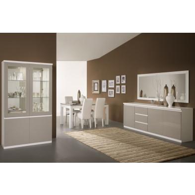 Salle à manger complète blanc design collection Traugott