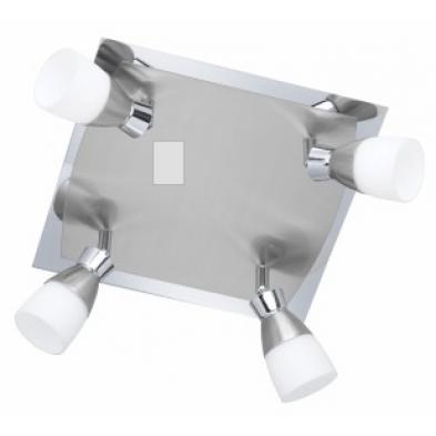 Plafonnier gris design L. 28 x H. 15 cm collection Hillwell