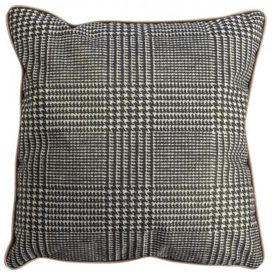 Coussin et oreiller taupe design en polyester, L. 45 x P. 45 cm  collection Jaell Richmond Interiors Richmond Interiors