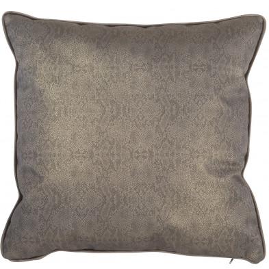 Coussin et oreiller taupe design en polyester, L. 45 x P. 45 cm  collection Jadi Richmond Interiors Richmond Interiors