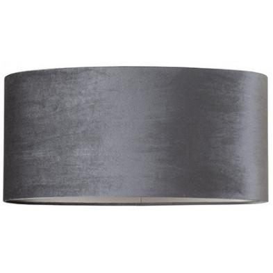 Abat-jour gris design en coton, L. 58 x P. 31 x H. 27 cm  collection Emily Richmond Interiors Richmond Interiors