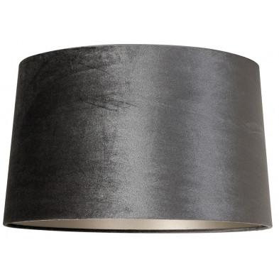 Abat-jour gris design en coton, L. 50 x P. 50 x H. 38 cm  collection Emily Richmond Interiors Richmond Interiors