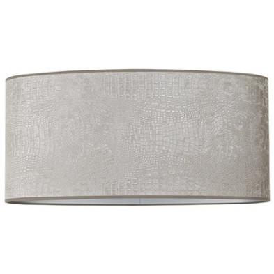 Abat-jour argenté design en polyester, L. 58 x P. 58 x H. 27 cm  collection Marly Richmond Interiors Richmond Interiors