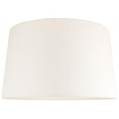 Abat-jour blanc design en coton   L. 40 x P. 27 x H. 45 cm collection Demi Richmond Interiors