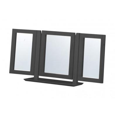 Miroir sur pied contemporain gris L. 103 x H. 23 cm collection Genoveffa