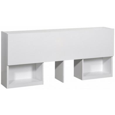 Tête de lit blanc moderne en panneaux de particules de haute qualité collection Tax