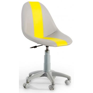 Chaise enfant Gris Design en cm de largeur collection Bursay