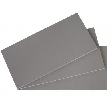 Accessoires gris contemporain en panneaux de particules de haute qualité L. 87 x P. 50 x H. 2 cm collection Fifekeith