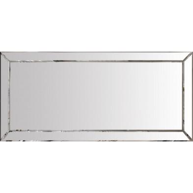 Miroir pour bahut design argenté fumé 176.5 x 5 x 71.5cm collection Monaco
