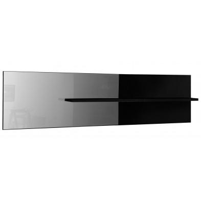 Miroir de salle à manger blanc design en panneaux de particules de haute qualité L. 199 x P. 24 x H. 51 cm collection Bosavern