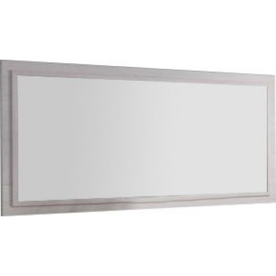 Miroir mural marron design L. 180 x P. 4 x H. 82 cm collection Bulfons