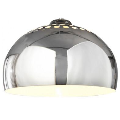 Suspension boule en acier chromé design rétro collection Newborough