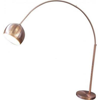 Lampadaire extensible en métal 170 - 210 cm coloris bronze collection Maybritt
