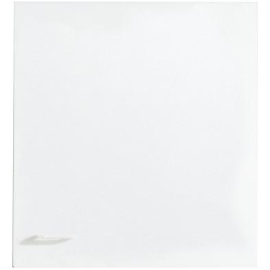 Meuble haut blanc moderne en panneaux de particules de haute qualité L. 50 x P. 35 x H. 53 cm  collection Spijkstra