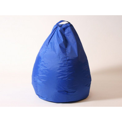 Repose-pied et pouf bleu design L. 80 x P. 80 x H. 96 cm  collection Spineda