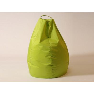 Repose-pied et pouf vert design L. 80 x P. 80 x H. 96 cm  collection Spineda