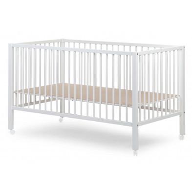 Parc bébé pour jumeaux design blanc en bois massif hêtre 150x80 cm Collection Ruan
