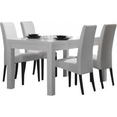 Ensembles tables & chaises blanc design collection Broadheath