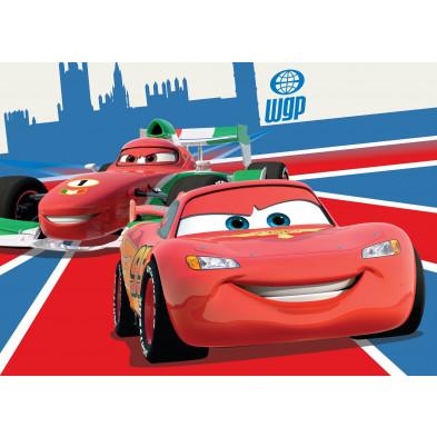 Tapis Cars Disney pour enfant 95x133cm  collection Guimaraes