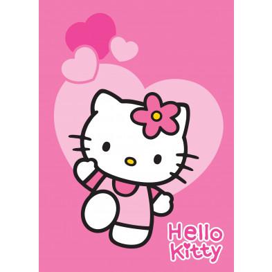 Tapis enfant 95x133cm design Hello Kitty  collection Cesta